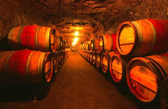 Regenton-wijnvat